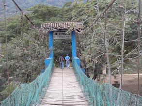 Photo: houpací visací most