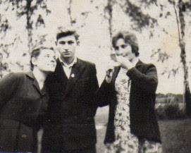 Photo: Navardauskai: Zita, Feliksas, Judita