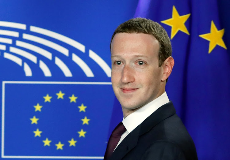 Facebook's CEO Mark Zuckerberg arrives at the European Parliament to answer questions about the improper use of millions of users' data by a political consultancy, in Brussels on Tuesday. Picture: REUTERS/Yves Herman