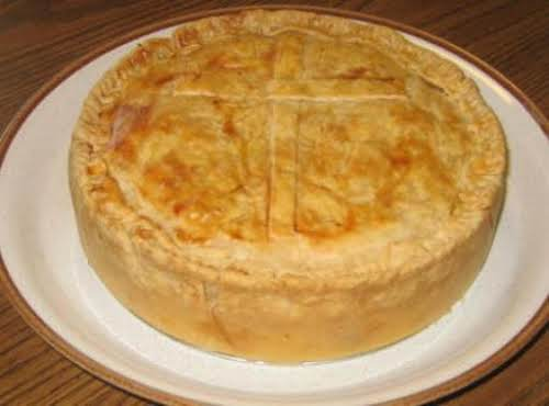 """Italian Easter Pie (Pizza Chena) """"I made this last year and will..."""