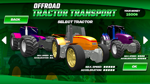 OffRoad Tractor Transport 1.0 screenshots 2
