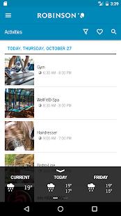 ROBINSON App - náhled