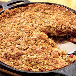 CB'S Cranberry-Apple Skillet Crisp Recipe