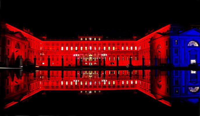 Notte Rossa alla Villa Reale di Monza di Rossella13
