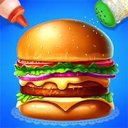 🍔🍔Make Burger - Yummy Kitchen Cooking Game