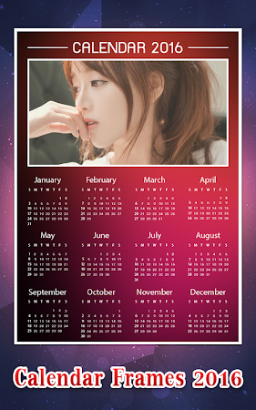 Calendar Photo Frame 2016 1.1 screenshot 428958