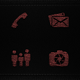 Rattleskin Red Icons icon