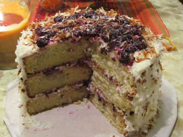 You Can Make This Cake Using Raspberries, Blueberries Or Blackberries Just Please Make Sure To Pad Them Dry First.