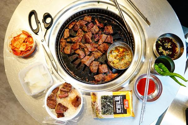 新村站著吃烤肉|跟韓國一樣好吃!站著吃烤肉,台北韓國烤肉推薦!