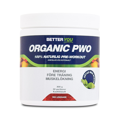 Better You Organic PWO 300g - Red Lemonade