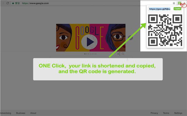 URL Shortener with QR Code