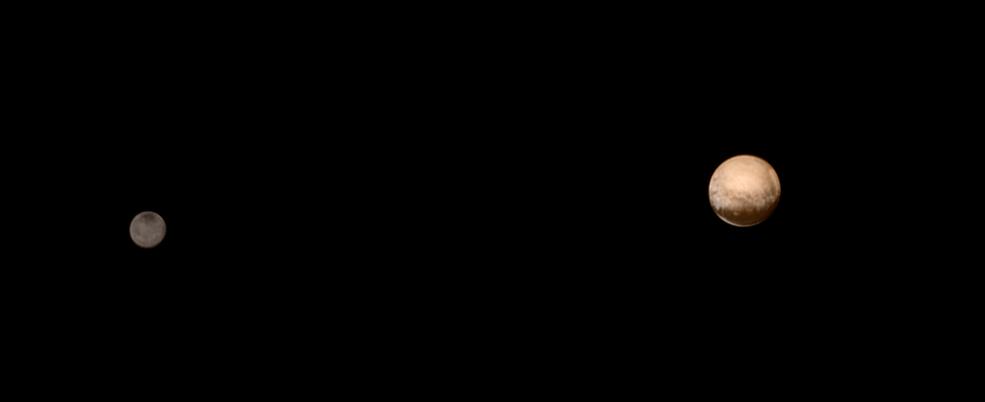 ชมภาพคู่ของดาวพลูโตและชารอน Pluto and Charon 4