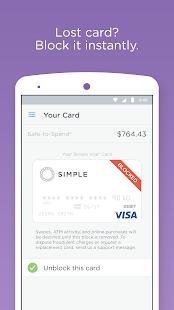 Simple - Better Banking - screenshot thumbnail