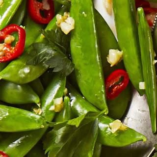 Spicy Sesame Sugar Snaps Recipe