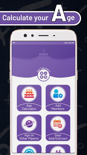 Age Calculator: Horoscope & Birthday Reminder 1.0.2 screenshots 1
