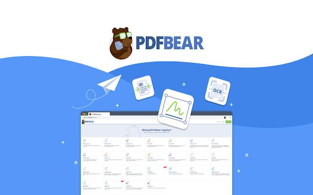 PDFBEAR - Convert, Merge, and Compress PDF