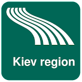 Kiev region Map offline