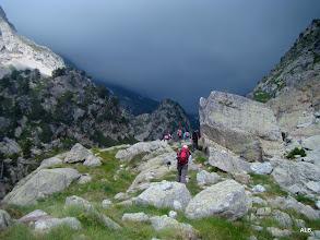 Photo: Las rocas y lo que se avecina.