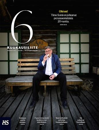 Timo Soini for Helsinki Sanomat