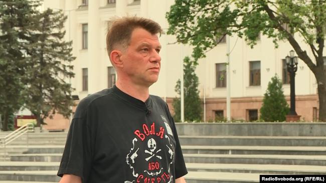 Олексій Кода, житель Краматорська