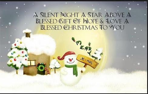screenshot image - Cute Christmas Captions