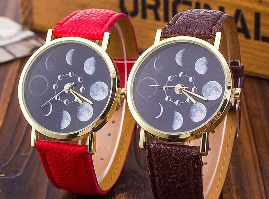 Zegarek z fazami Księżyca