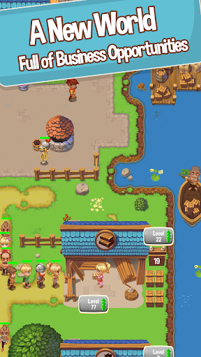 Idle Settlers: Medieval Trading Tycoon apkmr screenshots 1