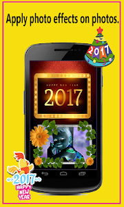 New Year Photo Frames 2017 screenshot 1