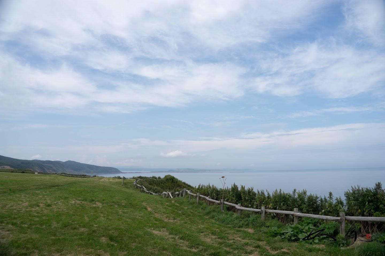 能取湖を望む