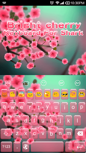 Bright Cherry - Emoji Keyboard