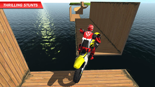 Racing on Bike Free 2.8 screenshots 1