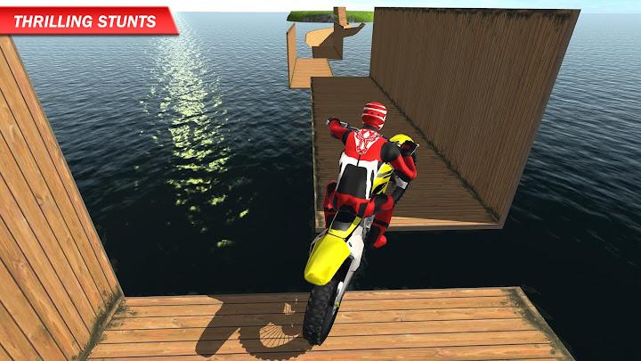 Racing on Bike Free Android App Screenshot