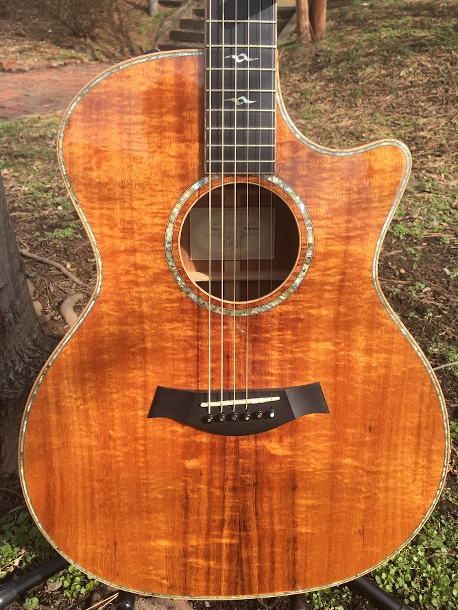 For Sale Taylor K24ce Flamed Koa Natural 2008 Sold The Acoustic Guitar Forum
