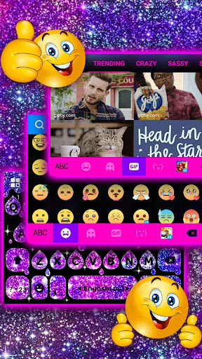 Galaxy Drop Heart Keyboard Theme Apk apps 4