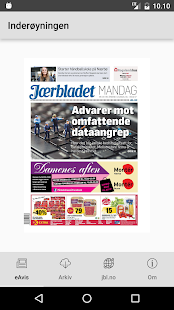 Jærbladet- screenshot thumbnail