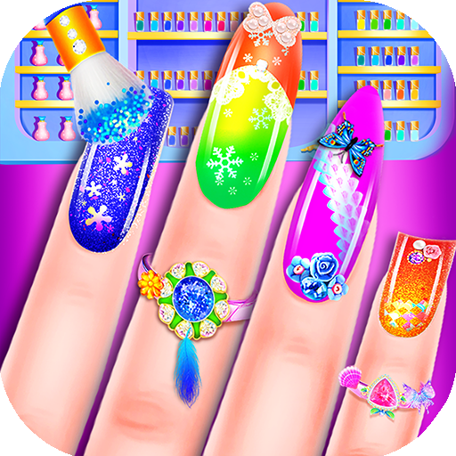 Fashion Nail Art - Salon Game Icon