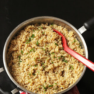 Simple Brown Rice Pilaf Recipe