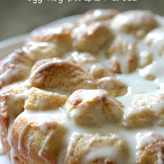 Egg Nog Pull Apart Bread
