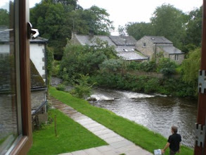 Photo: PW - View from my room at Beck Hall B&B