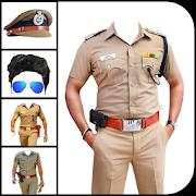 Man Police Suit Photo Editor - Men Police Dress