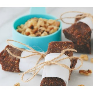 Mexican Chocolate Walnut Snack Bars
