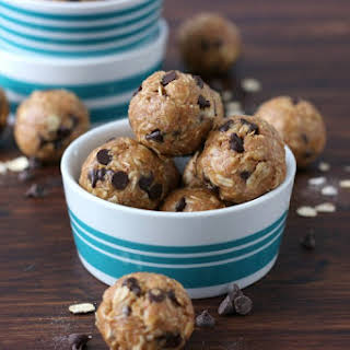 Peanut Butter Oatmeal Cookie Granola Bites.