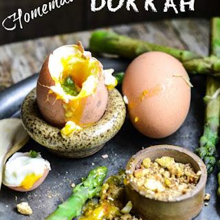 Homemade Dukkah Spice Mix.