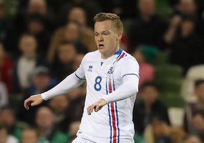 Union versterkt zich in januari met de IJslandse international Aron Sigurdarson