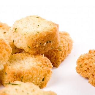 Microwave Croutons