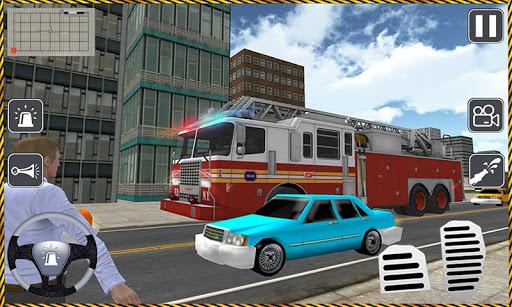 Fire Driver Truck City Rescue