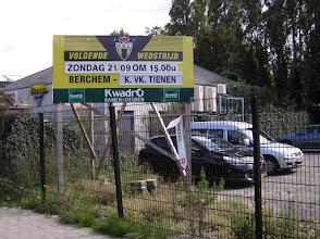 Photo: Het affiche van vanmiddag Berchem Sport - K.V.K. Tienen ....