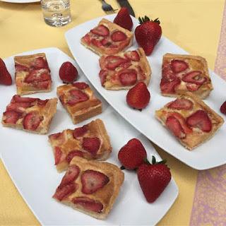 Strawberry Jam Bars.