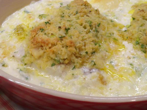 Dubliner Irish Cheese Crusted Fish Recipe