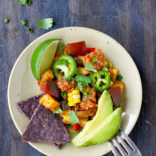 Spicy Mexican Style Potato Hash